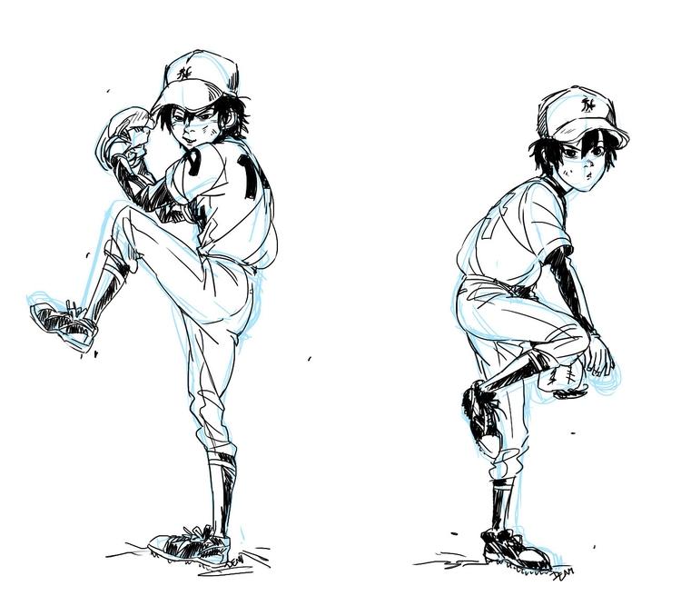 obsessed baseball hamadas - bighero6 - johnnybooboo | ello