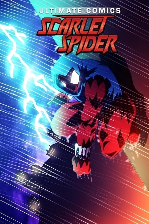 fan art Scarlet Spider - spider-man - chadscott   ello