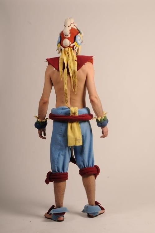 Aztec Warrior 2 - costumedesign - smouss   ello