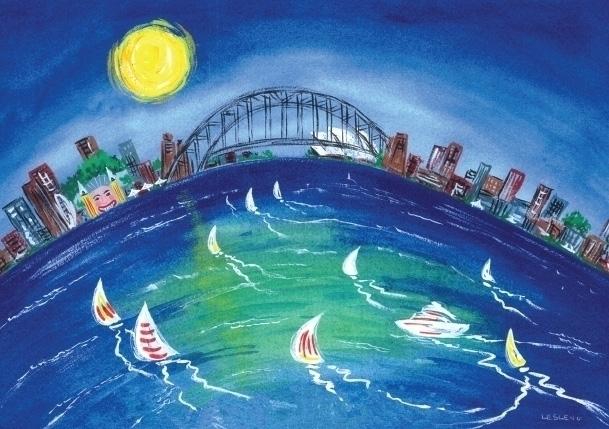 Sydney Harbour View - suzanne88 | ello