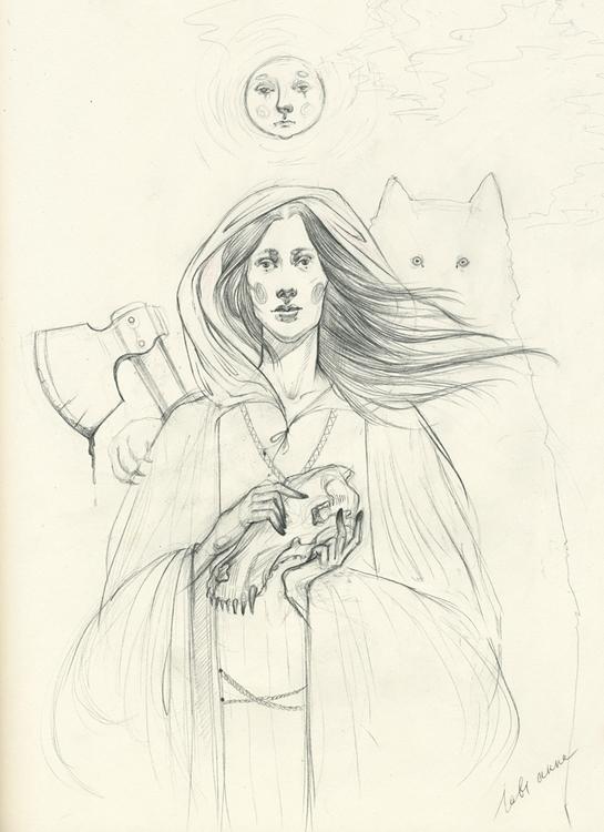Forgive Pencil sketch illustrat - annaorca | ello