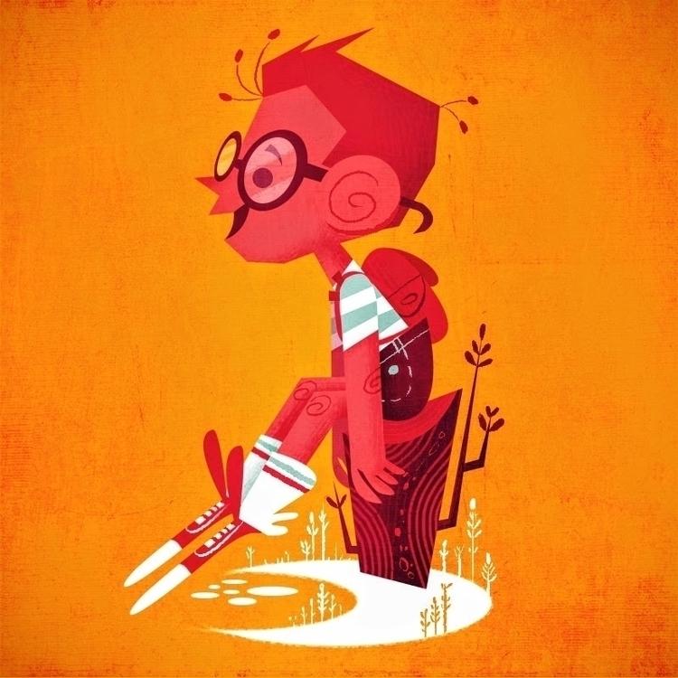 characterdesign, illustration - elitaelkana | ello