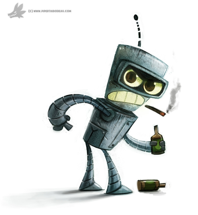 Day 811# Bender - piperthibodeau | ello