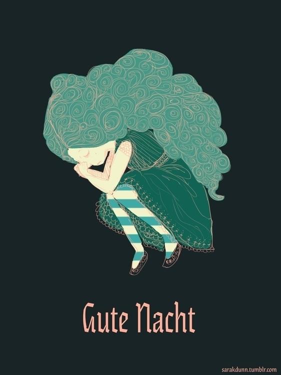 Gute Nacht (goodnight - gutenacht - sarakdunn | ello