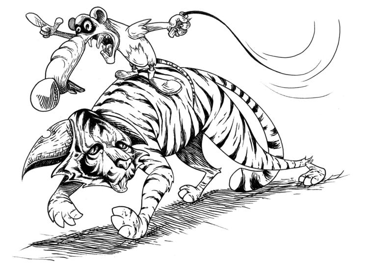 Enslaved kitty - illustration, characterdesign - kaiman-6057 | ello
