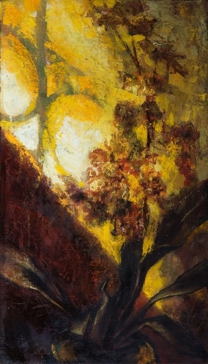 Orchid - painting, flowers, oilpainting - gazer-9289 | ello
