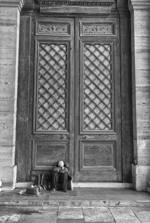 Tired Homeless Man (Paris, 2015 - edendrummond   ello