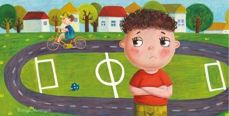 book kids family - illustration - zhenya-1055 | ello