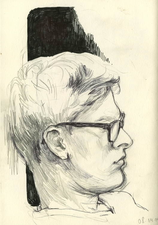 drawing, portrait, thomkemeyer - thomke-9244 | ello