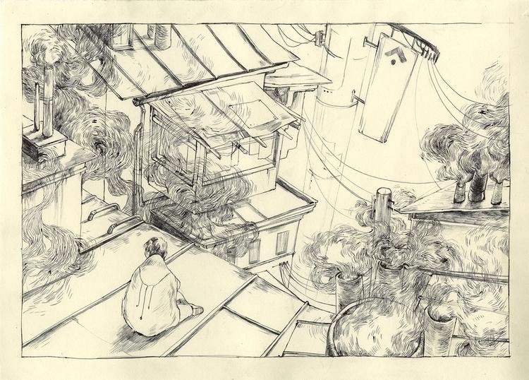 illustration, comic, thomkemeyer - thomke-9244 | ello