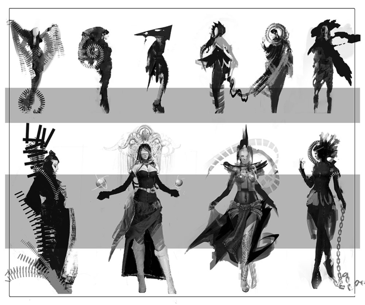 characters - illustration, characterdesign - yuryhudov | ello