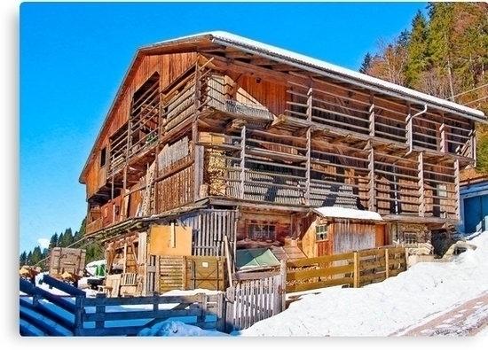 wooden mountain farmhouse Gailv - leo_brix | ello