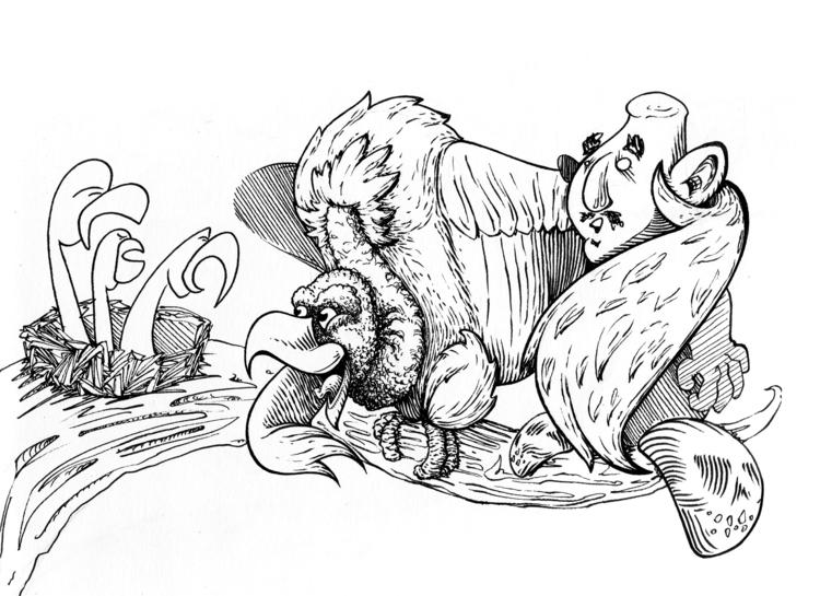 party - illustration, characterdesign - kaiman-6057 | ello