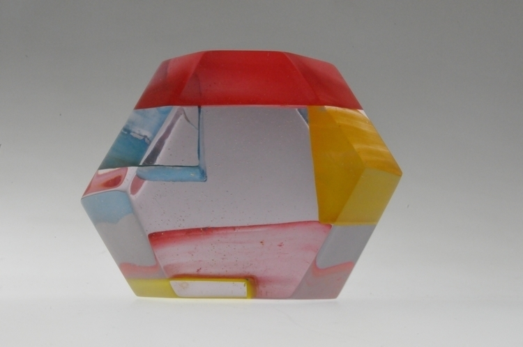 geometrical resin - colors, cute - smouss | ello