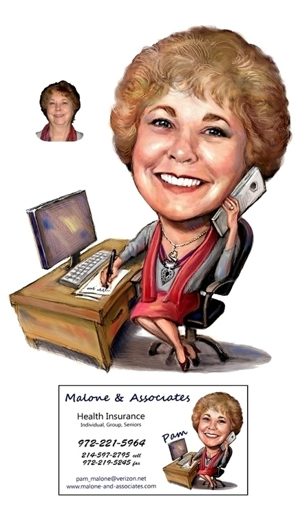 Health Insurance Broker - illustration - doritart | ello