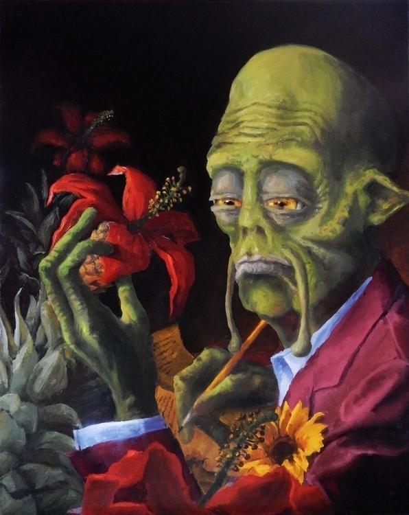 Oil Canvas 2013 - painting - devongisbert | ello