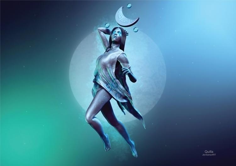 Quilla, goddess responsible fem - javsamaart | ello