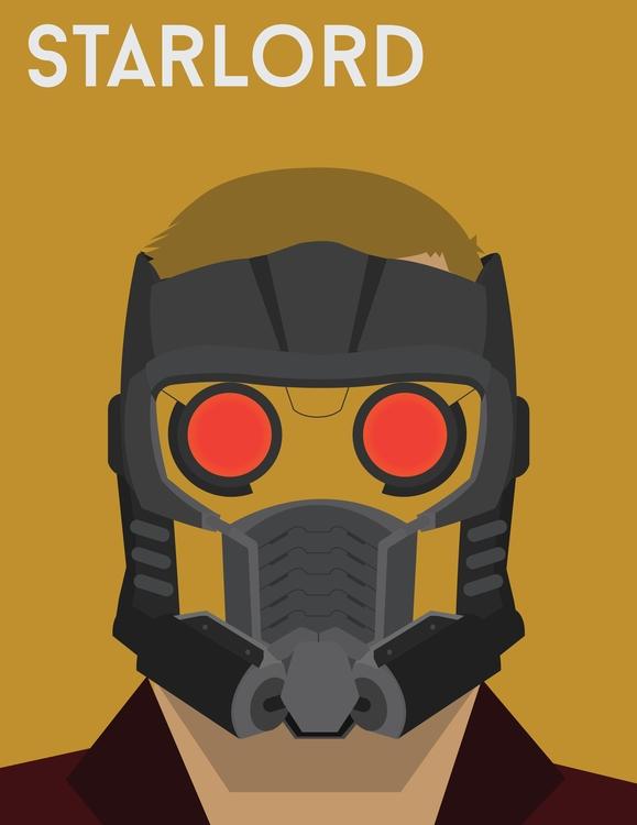 Starlord - starlord, guardiansofthegalaxy - ebouazza | ello