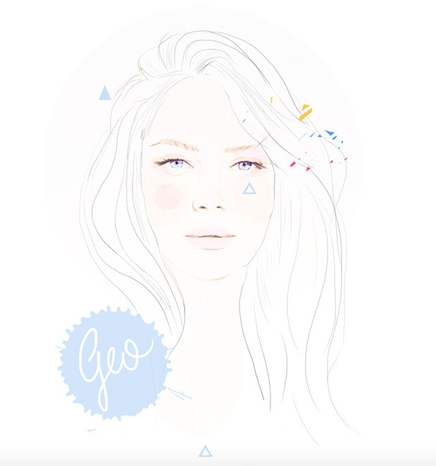 Luna ~ Female Illustration - geo23 | ello