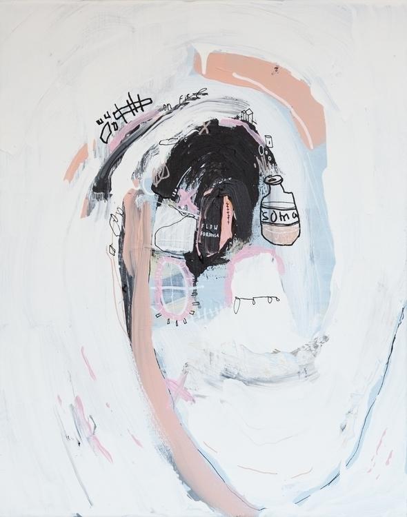Soma - art, artistsonnabaroo, painting - kimbogruff | ello