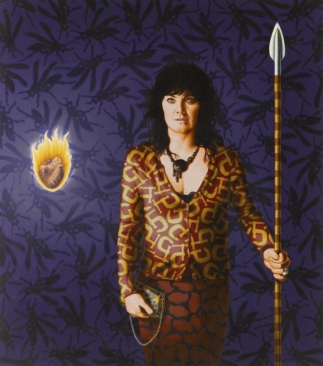 Spear Chucker wife - SamanthaHall - stephenhallny | ello