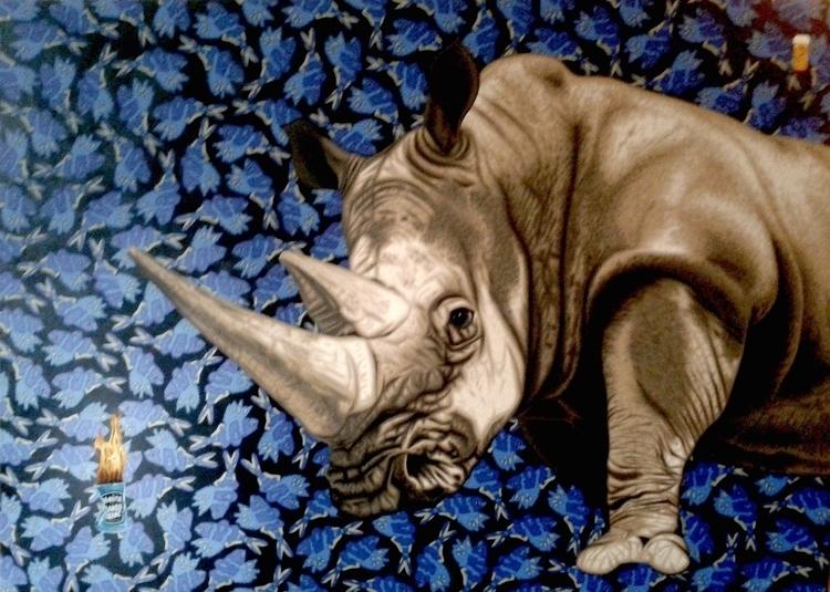 Pills Working - rhino, rhinoceraus - stephenhallny | ello