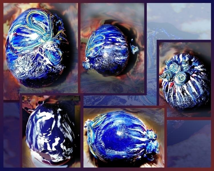 Shades Blue - artscrafts, craft - aiakira | ello