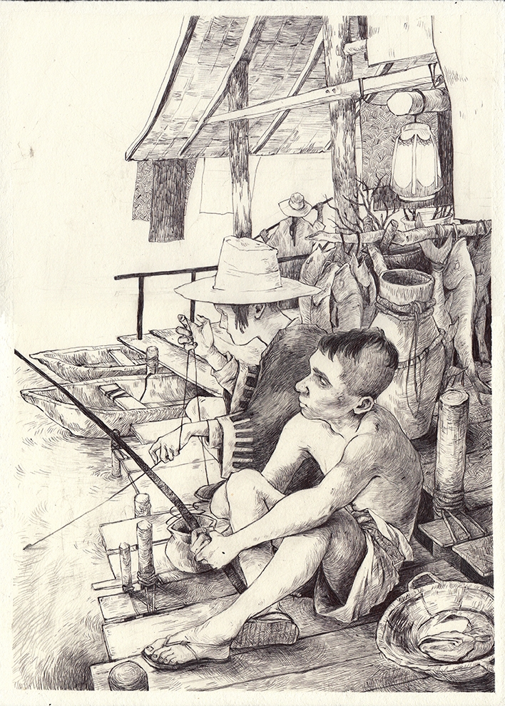 illustration, graphicnovel, thomkemeyer - thomke-9244 | ello