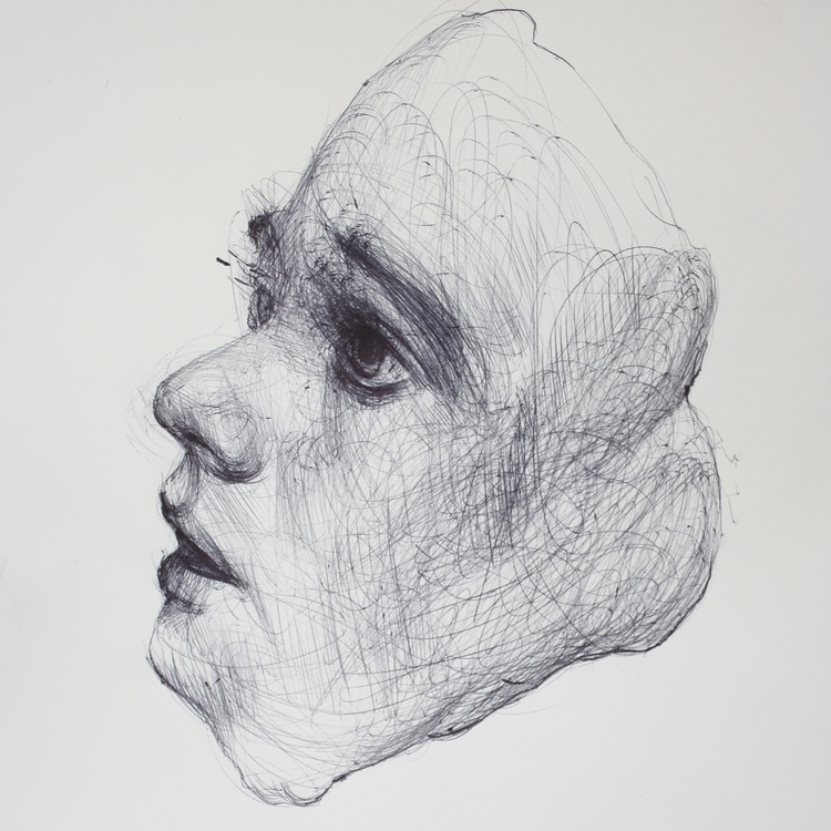 illustration, drawing, ballpoint - edikchoi | ello
