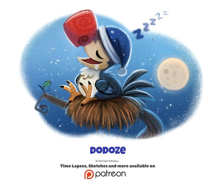 Daily 1340. Dodoze - piperthibodeau | ello