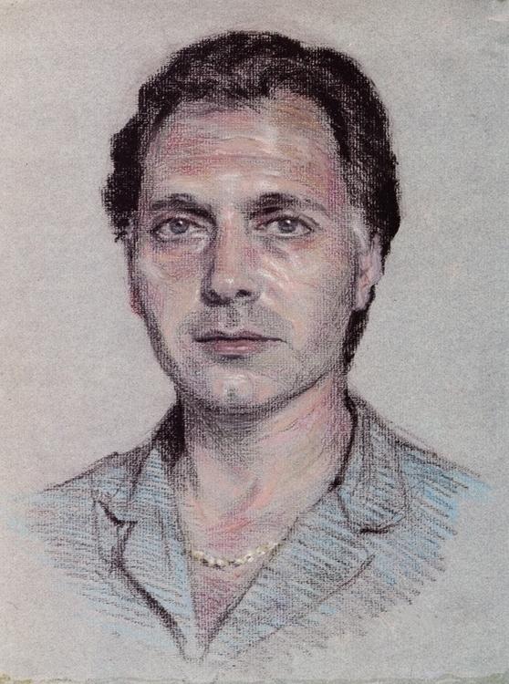 Portrait Oil Pastels - oilpastels - doritart | ello