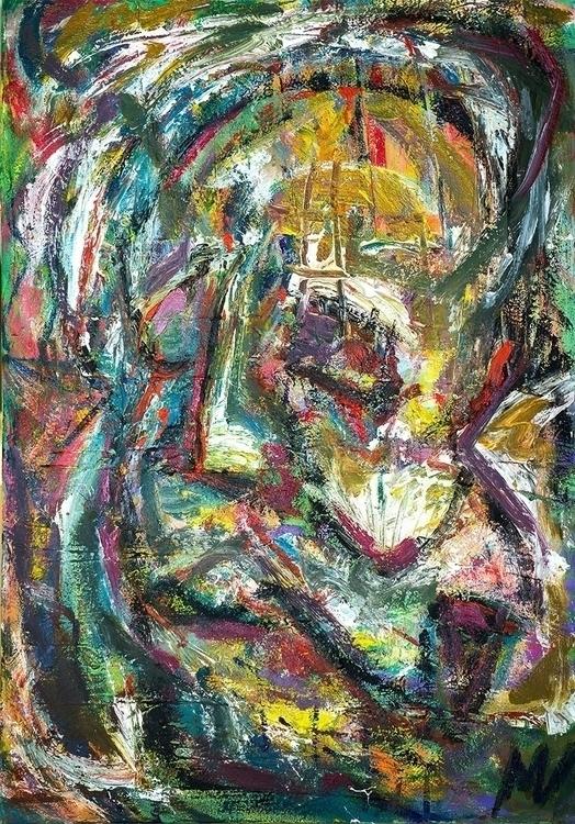 Expressive portrait 3, 100x80 c - vuja90 | ello