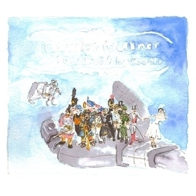 Soundtrack project - ink, watercolour - whistlingbear | ello