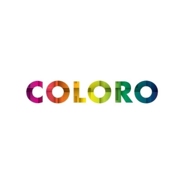 coloro logo design - color, colorful - yanaok | ello
