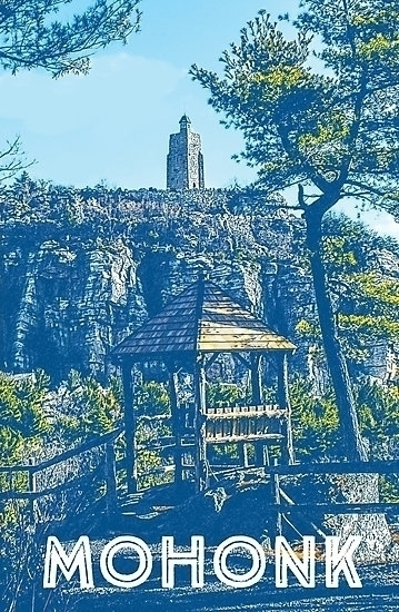 print captures essence Mohonk M - moonflowerstudio | ello