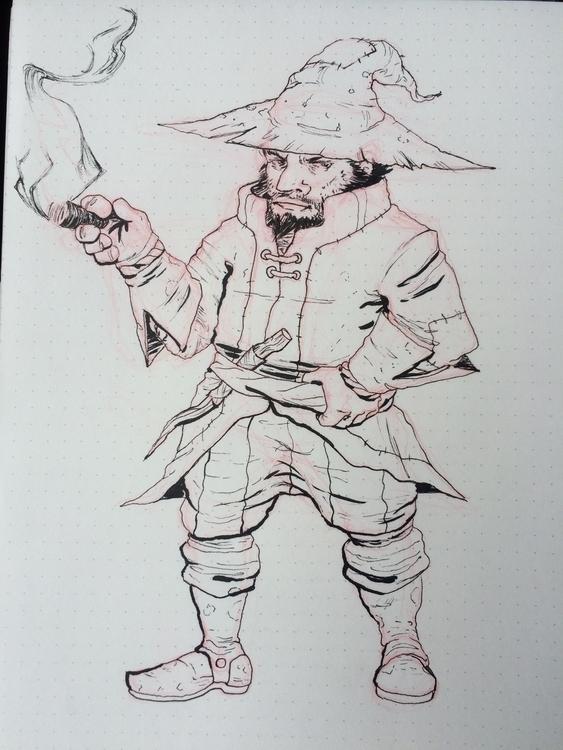 grumpy dwarf wizard types - dungeonsdragons - iamjustino | ello