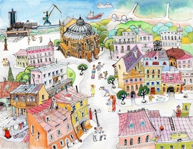 Odesa summer - popovichenko | ello