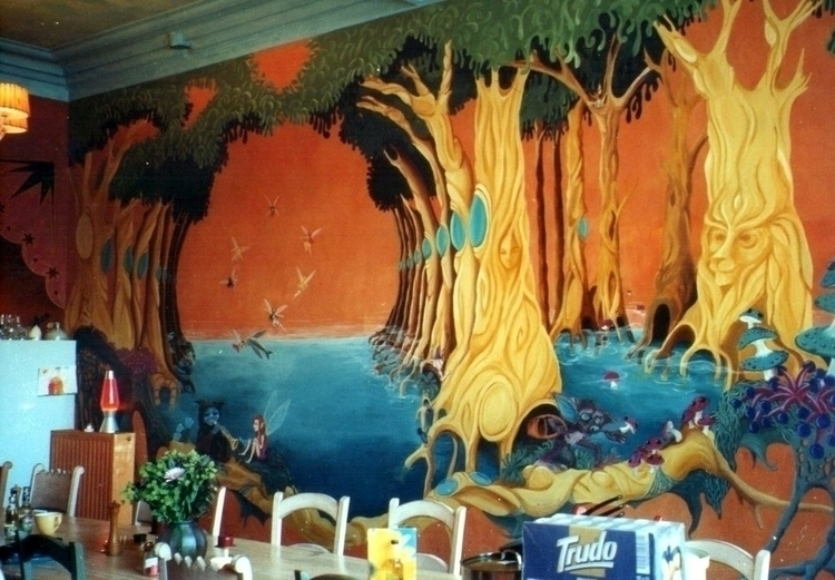 Fantasy Wallpainting - mischanaaraat | ello