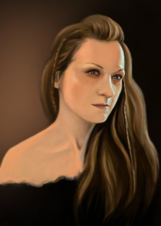 Selfportrait - selfportrait, digitalpainting - ausmakalnina | ello