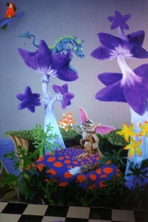 Fantasy painting childsroom - mischanaaraat | ello