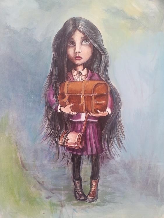 Illustration childsbook - mischanaaraat | ello