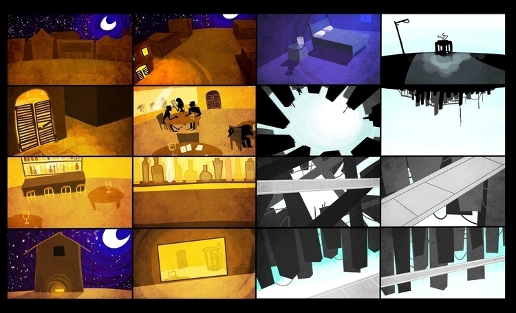 backgrounds animatic - kparnold | ello