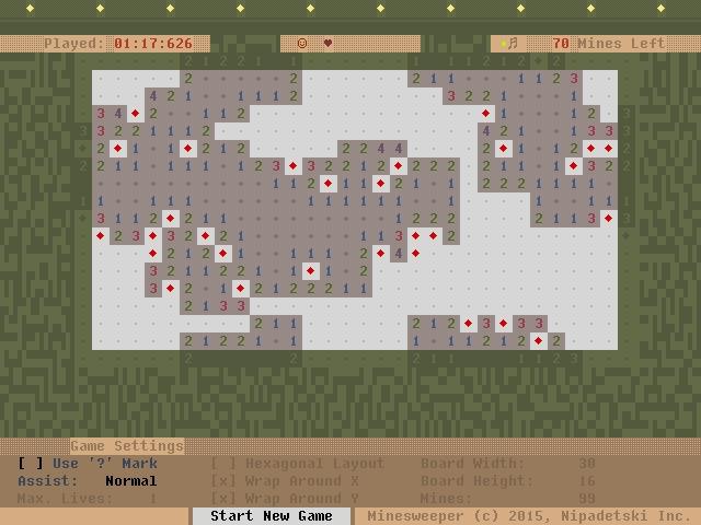 Minesweeper clone powered frame - punpcklbw | ello