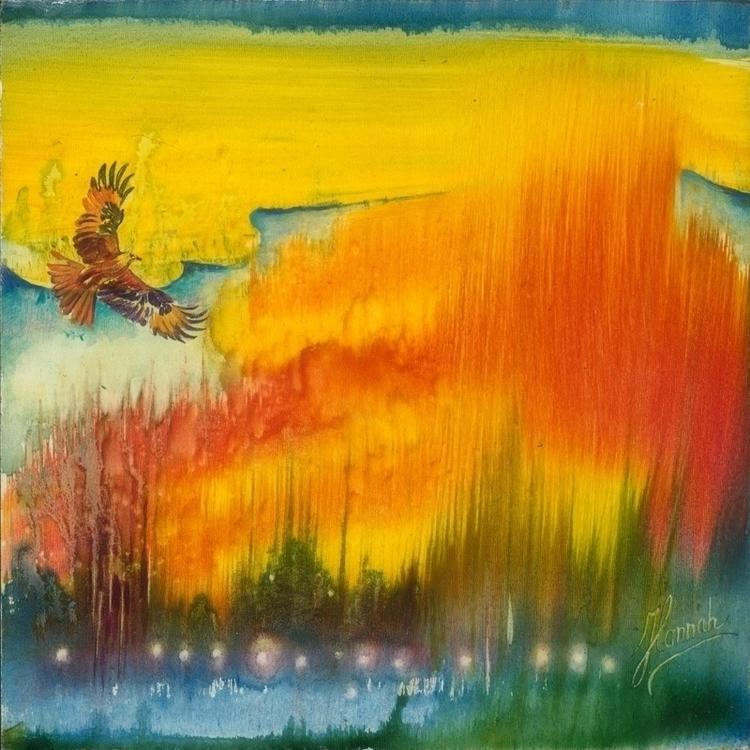 Freedom- original painting boar - annahannahart | ello