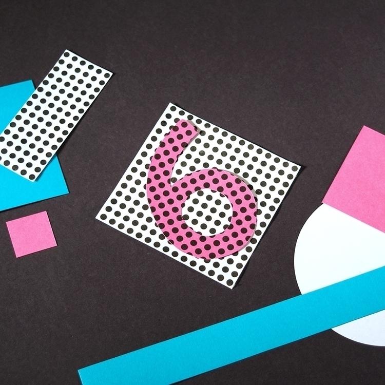 6 - 36daysoftype, typography, collage - katiecoughlan | ello