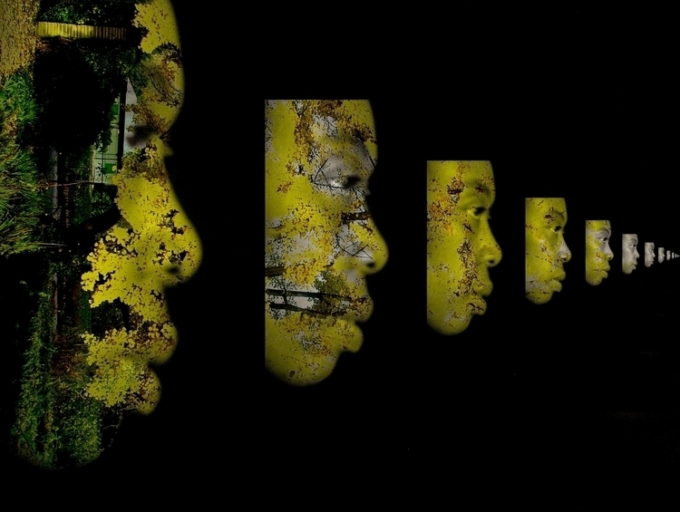 interreflection 1 - photography - cylindergallery   ello