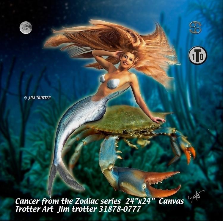 Cancer Zodiac - photography, conceptart - jimtrotter   ello