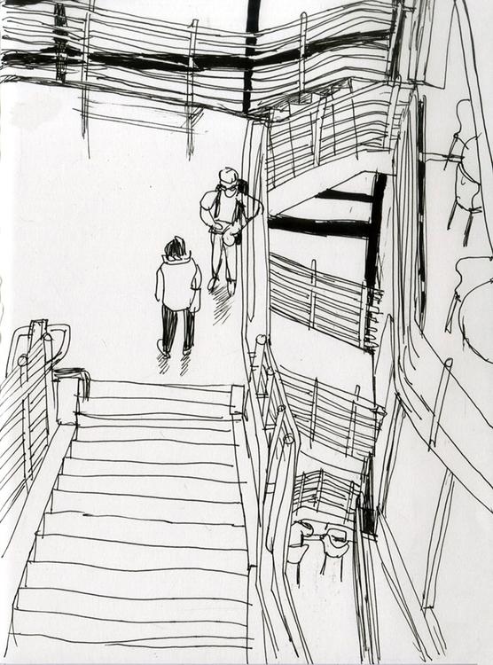UB law school - 1, drawing, sketchbook - ononlao   ello