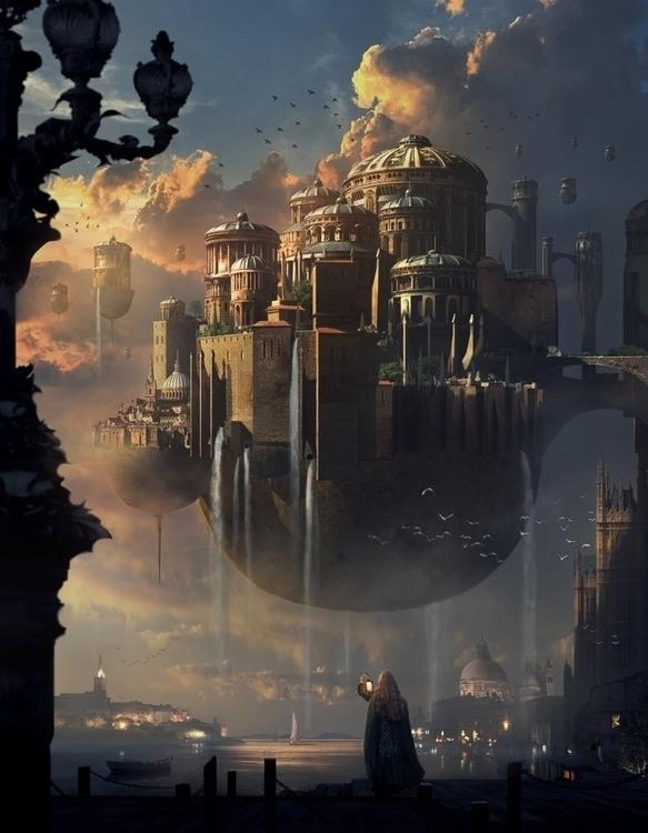 Sunset Castle. Mai Anh Tran. ma - maianhtran | ello