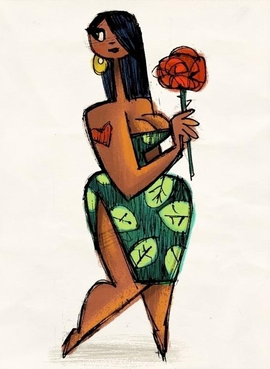 Tiki Rose - tiki, girl - eddycrosby | ello